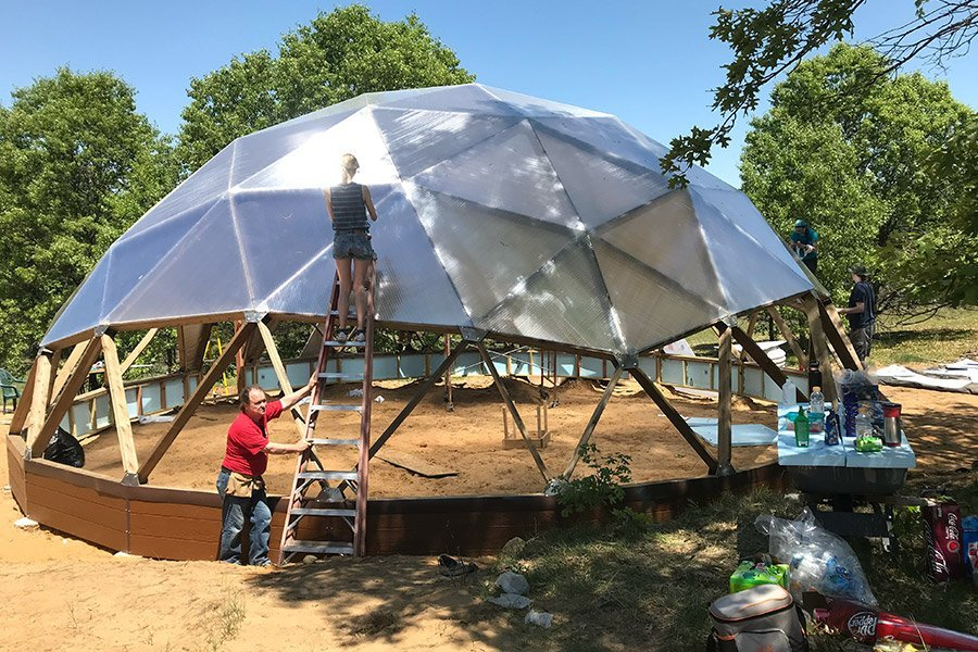 Geodome Construction